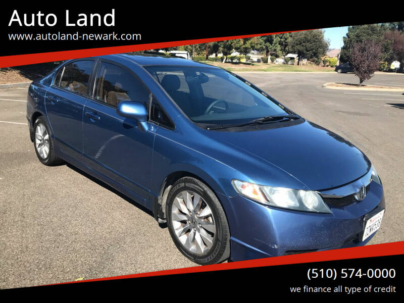2010 Honda Civic for sale at Auto Land in Newark CA