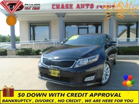 2015 Kia Optima for sale at Chase Auto Credit in Oklahoma City OK