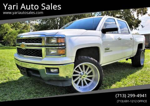 2014 Chevrolet Silverado 1500 for sale at Yari Auto Sales in Houston TX