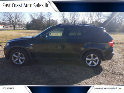 2009 BMW X5 for sale at East Coast Auto Sales llc in Virginia Beach VA