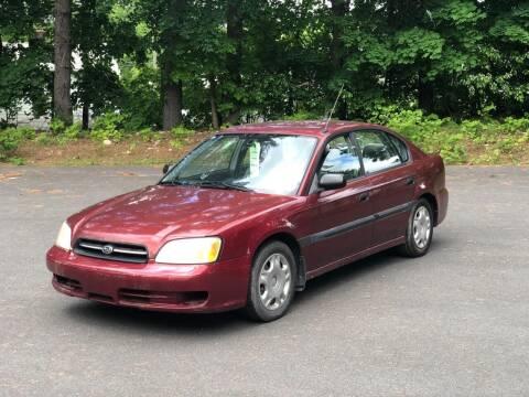 2002 Subaru Legacy for sale at Kimp Enterprises LLC in Waterbury CT