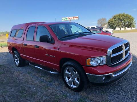 2003 Dodge Ram Pickup 1500 for sale at RAYMOND TAYLOR AUTO SALES in Fort Gibson OK