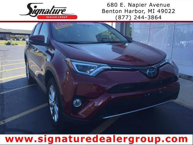 2018 Toyota RAV4 Hybrid for sale in Benton Harbor, MI