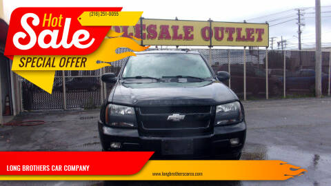 2007 Chevrolet TrailBlazer for sale at LONG BROTHERS CAR COMPANY in Cleveland OH