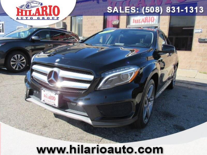 2016 Mercedes-Benz GLA for sale at Hilario's Auto Sales in Worcester MA