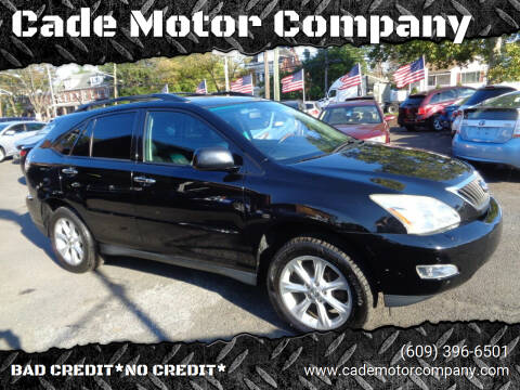 2009 Lexus RX 350 for sale at Cade Motor Company in Lawrenceville NJ