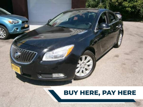 2013 Buick Regal for sale at WESTSIDE AUTOMART INC in Cleveland OH