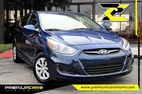 2017 Hyundai Accent for sale at Premium Cars of Miami in Miami FL