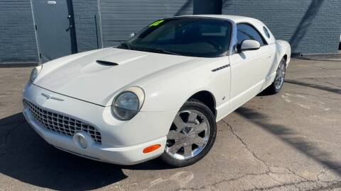 2002 Ford Thunderbird for sale at ROUTE 6 AUTOMAX in Markham IL