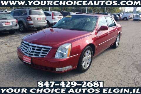 2007 Cadillac DTS for sale at Your Choice Autos - Elgin in Elgin IL