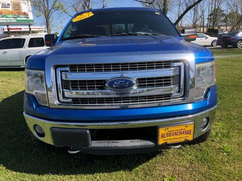 2013 Ford F-150 for sale at Washington Motor Company in Washington NC