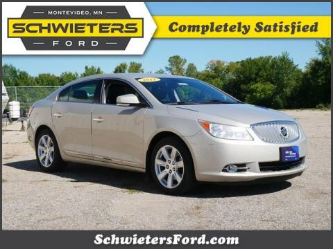 2012 Buick LaCrosse for sale at Schwieters Ford of Montevideo in Montevideo MN