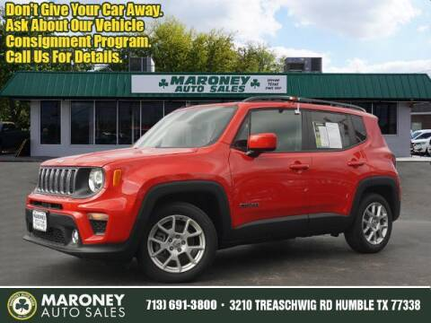 2019 Jeep Renegade for sale at Maroney Auto Sales in Humble TX