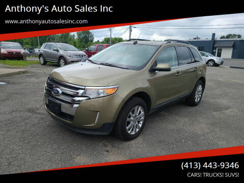 2012 Ford Edge for sale at Anthony's Auto Sales Inc in Pittsfield MA