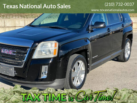 2011 GMC Terrain for sale at Texas National Auto Sales in San Antonio TX