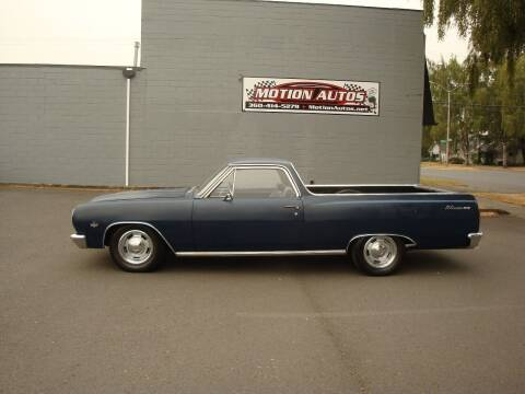 1965 Chevrolet El Camino for sale at Motion Autos in Longview WA