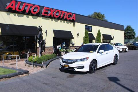2016 Honda Accord for sale at Auto Exotica in Red Bank NJ