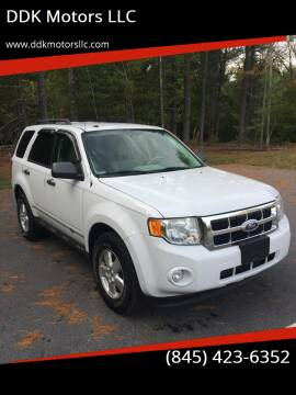 2010 Ford Escape for sale at DDK Motors LLC in Rock Hill NY