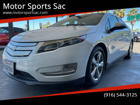2013 Chevrolet Volt for sale at Motor Sports Sac in Sacramento CA