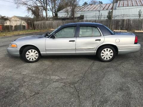 2011 Ford Crown Victoria for sale at Mike's Auto Sales of Charlotte in Charlotte NC
