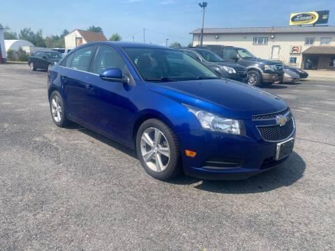 2013 Chevrolet Cruze for sale at Riverside Auto Sales & Service in Portland ME