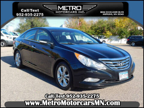 2011 Hyundai Sonata for sale at Metro Motorcars Inc in Hopkins MN