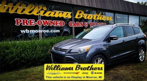 2016 Ford Escape for sale at Williams Brothers - Pre-Owned Monroe in Monroe MI