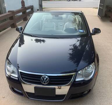 2007 Volkswagen Eos for sale at Dynasty Auto in Dallas TX