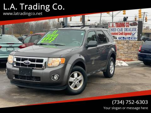 2011 Ford Escape for sale at L.A. Trading Co. in Woodhaven MI