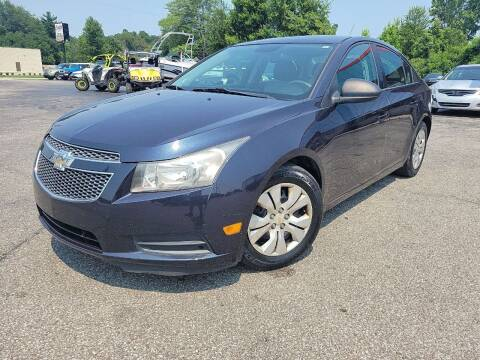 2014 Chevrolet Cruze for sale at Cruisin' Auto Sales in Madison IN