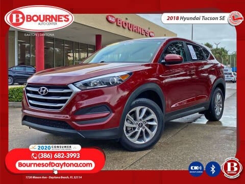 2018 Hyundai Tucson for sale at Bourne's Auto Center in Daytona Beach FL