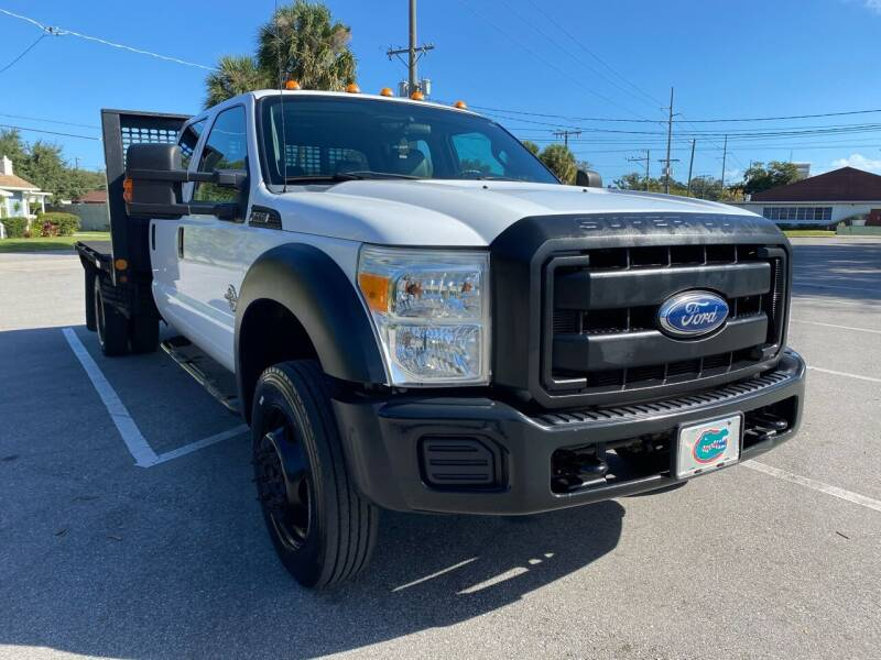 2012 Ford F-550 Super Duty for sale at LUXURY AUTO MALL in Tampa FL
