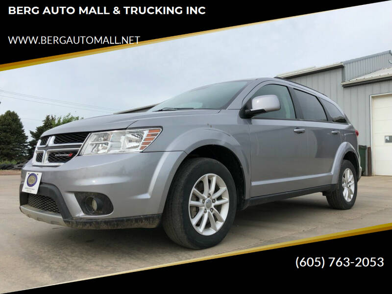 2017 Dodge Journey for sale at BERG AUTO MALL & TRUCKING INC in Beresford SD