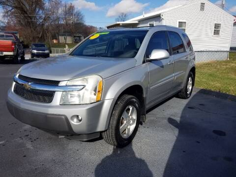 2006 Chevrolet Equinox for sale at Moores Auto Sales in Greeneville TN