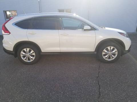 2012 Honda CR-V for sale at Clairemont Motors in Eau Claire WI