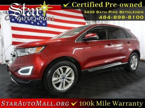 2016 Ford Edge for sale at STAR AUTO MALL 512 in Bethlehem PA