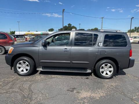 2004 Nissan Armada for sale at University Auto Sales in Cedar City UT