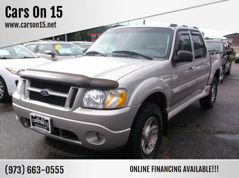 2004 Ford Explorer Sport Trac for sale at Cars On 15 in Lake Hopatcong NJ