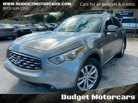 2011 Infiniti FX35 for sale at Budget Motorcars in Tampa FL