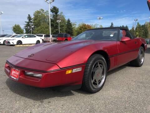 1989 Chevrolet Corvette for sale at Autos Only Burien in Burien WA