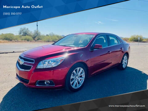 2013 Chevrolet Malibu for sale at Maricopa Auto Outlet in Maricopa AZ