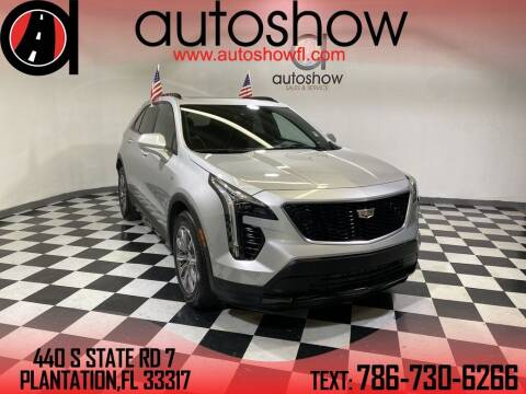 2020 Cadillac XT4 for sale at AUTOSHOW SALES & SERVICE in Plantation FL