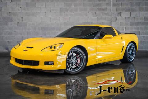 2007 Chevrolet Corvette for sale at J-Rus Inc. in Macomb MI