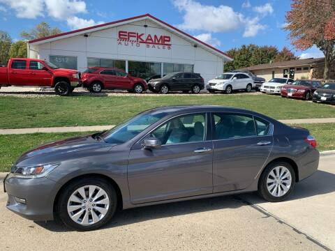 2014 Honda Accord for sale at Efkamp Auto Sales LLC in Des Moines IA