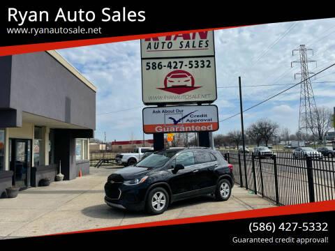 2019 Chevrolet Trax for sale at Ryan Auto Sales in Warren MI