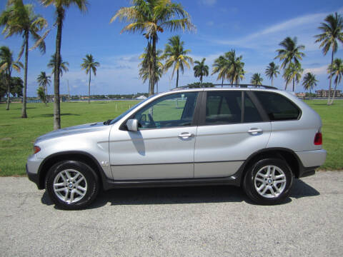 2004 BMW X5 for sale at FLORIDACARSTOGO in West Palm Beach FL