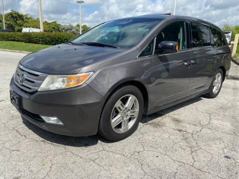 2012 Honda Odyssey for sale at D & P OF MIAMI CORP in Miami FL