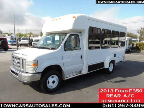 2013 Ford E-350 for sale at Town Cars Auto Sales in West Palm Beach FL