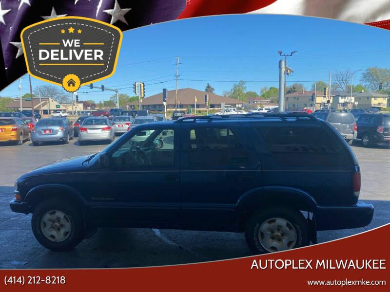 2001 Chevrolet Blazer for sale at Autoplex 2 in Milwaukee WI