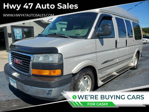 2006 GMC Savana Cargo for sale at Hwy 47 Auto Sales in Saint Francis MN